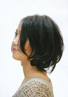 ミディアムパーマスタイル|びゅうてぃぷらざコア 東岩槻店のヘアスタイル