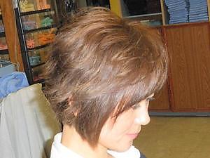 ショートパーマスタイル|びゅうてぃぷらざコア 東岩槻店のヘアスタイル