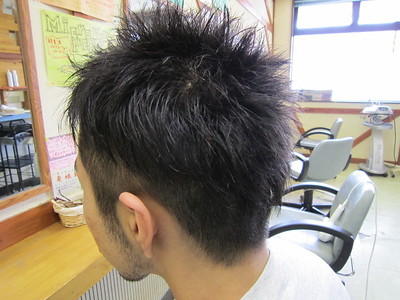 メンズショート★ツーブロック|びゅうてぃぷらざコア 東岩槻店のヘアスタイル