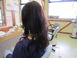 形状記憶ロングパーマ|びゅうてぃぷらざコア 東岩槻店のヘアスタイル