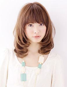 愛されシフォンパーマ|N's BRILLARのヘアスタイル