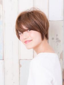 大人可愛いショートスタイル|L'avenir for hairのヘアスタイル