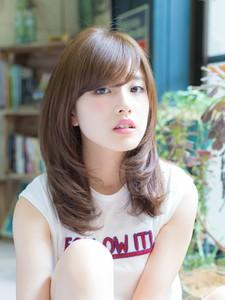 イルミナカラーで作る☆うるツヤセミディ|L'avenir for hairのヘアスタイル