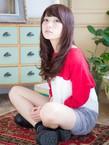 ◆L'avenir あびこ◆大人かわいい艶髪ボルドーロングカール