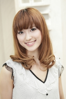 シェリ ミディアム Polaris hair&make 五反田のヘアスタイル