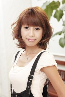 マテリアルカール Polaris hair&make 五反田のヘアスタイル