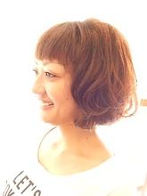 揺るボブ|T's gallery -bright-のヘアスタイル