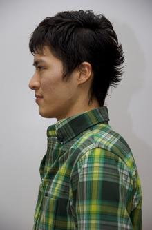 ナチュラルソフトモヒカン|OPENSESAMEのヘアスタイル