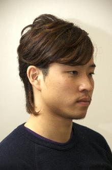 アシメショート|OPENSESAMEのヘアスタイル