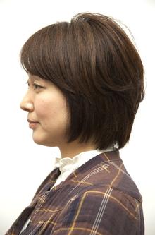 ナチュラルショートボブ|OPENSESAMEのヘアスタイル
