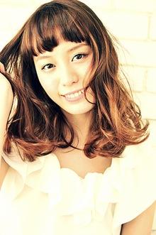 ラグジュアリーパーマ&カラー|hair make MIKIのヘアスタイル