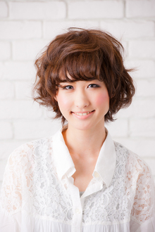 ガーリーショート|hair make MIKIのヘアスタイル