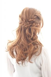 編みこみスタイル|hair make MIKIのヘアスタイル
