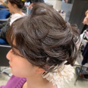ヘアセット hair make MIKIのヘアスタイル