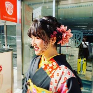 ヘアセット・着付 hair make MIKIのヘアスタイル
