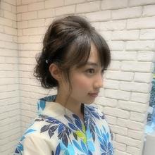浴衣ヘアセット|hair make MIKI 森居 美和のヘアスタイル