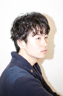 メンズ パーマ|hair make MIKIのヘアスタイル