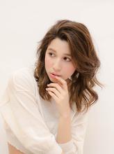 ルーズミディアム・ハイライト|hair make MIKIのヘアスタイル