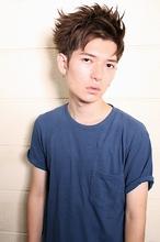 2WAYアップバングスタイル|gokan omotesandoのメンズヘアスタイル