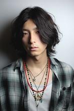 メンズ2ブロックグランジミディアム|gokan omotesandoのメンズヘアスタイル