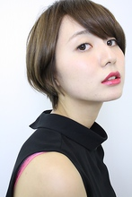 パーマなし!カットでつくるツヤのあるフィットボブ|gokan omotesandoのヘアスタイル