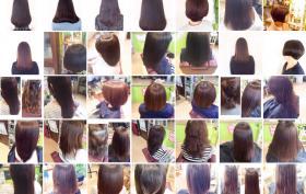 【北花田・髪質改善】カラーや白髪染めを繰り返す度に髪がキレイになっていきます。