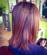 髪質改善ボタニカルオペ(トリートメントエステ)ボタニカルオペ施術後☆BACKをクリックで施術前です☆|【頭皮・髪のエステ専門店】Hair Vall RaQ のヘアスタイル