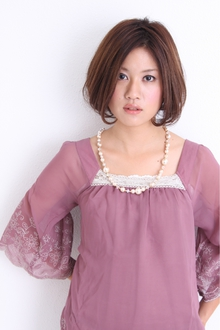 PURUPURUボブ☆|I WANNA GO HOME CONCENTのヘアスタイル