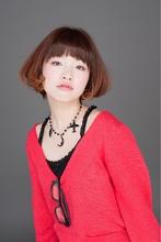 エイティーズフレンチBOB|I WANNA GO HOME CONCENT コワシ ヤスヒコのヘアスタイル