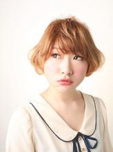 セレブリティーオンブレ×マニッシュボブ|I WANNA GO HOME CONCENT 吉澤 美穂のヘアスタイル