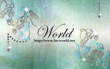 美容室 WORLD  | ビヨウシツ ワールド  のロゴ