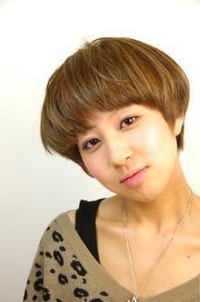 ボブ☆ショート☆ AUGUST hair nailのヘアスタイル