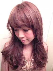 当店人気メニュー☆エンジェルグロスカラー AUGUST hair nailのヘアスタイル
