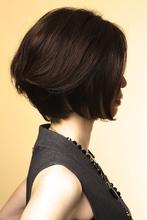 前下がりボブ ★担当 オーナー 狩野|azure/AVEDA hair&spaのヘアスタイル