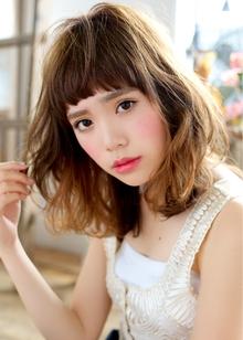 カジュアル×キュート|azure/AVEDA hair&spaのヘアスタイル