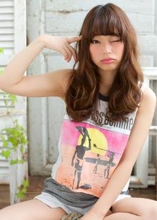 人気デジタルパーマスタイル 担当 森|azure/AVEDA hair&spaのヘアスタイル