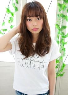大人気 ラフカジュアルパーマ 担当 森|azure/AVEDA hair&spaのヘアスタイル