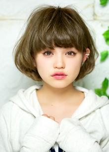 オススメ パールアッシュカラー 担当 森|azure/AVEDA hair&spaのヘアスタイル