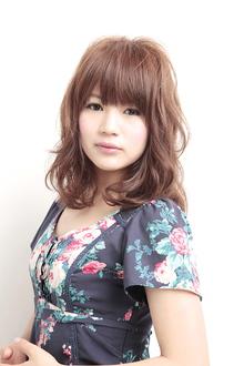 シフォンウェーブ|azure/AVEDA hair&spaのヘアスタイル