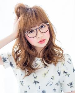 『やんわり』×『モテ髪』  担当 大柳|azure/AVEDA hair&spaのヘアスタイル