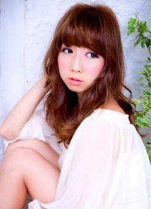 甘めバング!オススメスタイル☆ 担当 森 azure/AVEDA hair&spaのヘアスタイル
