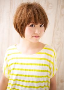カジュアル×ショート 担当 森|azure/AVEDA hair&spaのヘアスタイル