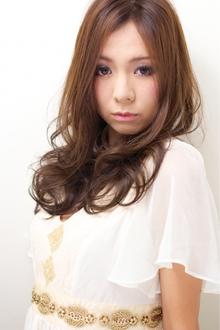 ノーブルカラー×クリープパーマ 担当 森|azure/AVEDA hair&spaのヘアスタイル