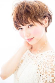 ☆耳かけショートボブ☆  担当 大柳|azure/AVEDA hair&spaのヘアスタイル