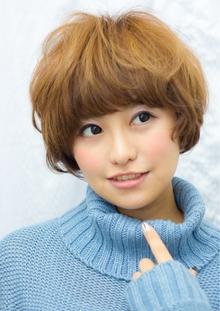 くせ毛風マッシュボブ  担当 大柳|azure/AVEDA hair&spaのヘアスタイル