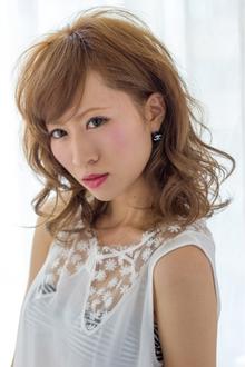 マスキュリンミディ  担当 大柳|azure/AVEDA hair&spaのヘアスタイル
