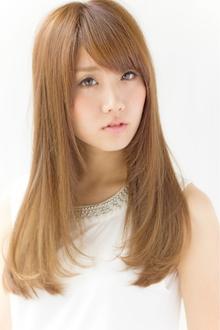 旬なミルキィーストレート♪  担当 大柳|azure/AVEDA hair&spaのヘアスタイル