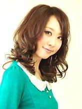 Sweetミディアム azure/AVEDA hair&spaのヘアスタイル