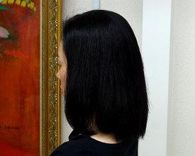 ナチュラルを極める美ストレート|こあさじょうじ美容室のヘアスタイル
