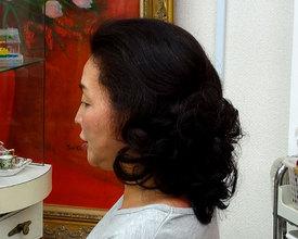 マダムカールでエレガントに|こあさじょうじ美容室のヘアスタイル